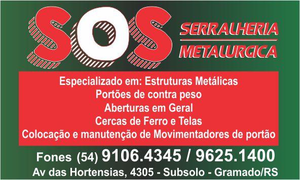 SOS Serralheria