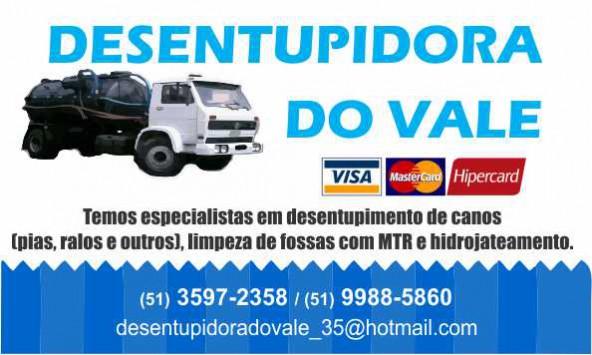 dESINTUPIDORA DO VALE