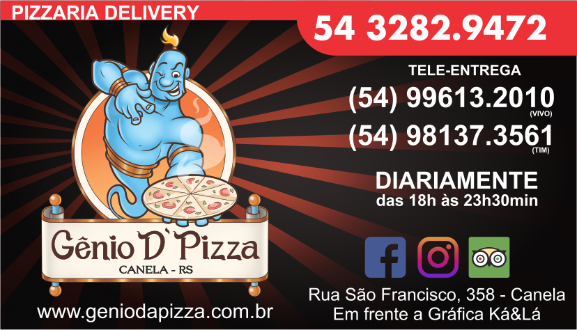 GÊNIO DA PIZZA