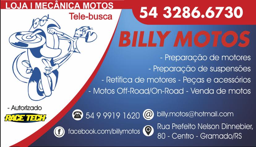 BILLY MOTOS